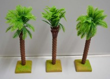 artificial plastic cute mini-model palm coconut tree for wedding, Christmas or party decoration