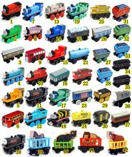 Anime Thomas and His Friends Wooden toys Trains Model Great Kids Christmas Toys Gifts for Children toys for children(China)