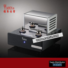 YAQIN MS-23B Valve tube Amplifier Phono Stage MM RIAA Turntable HiFi Stereo vacuum tube pre-amplifier 110-240V MS23B