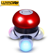 LUYAO 2016 Mini Electric head neck face massager.Wireless Scalp massager.Prevent hair loss.Vibration body massager for women