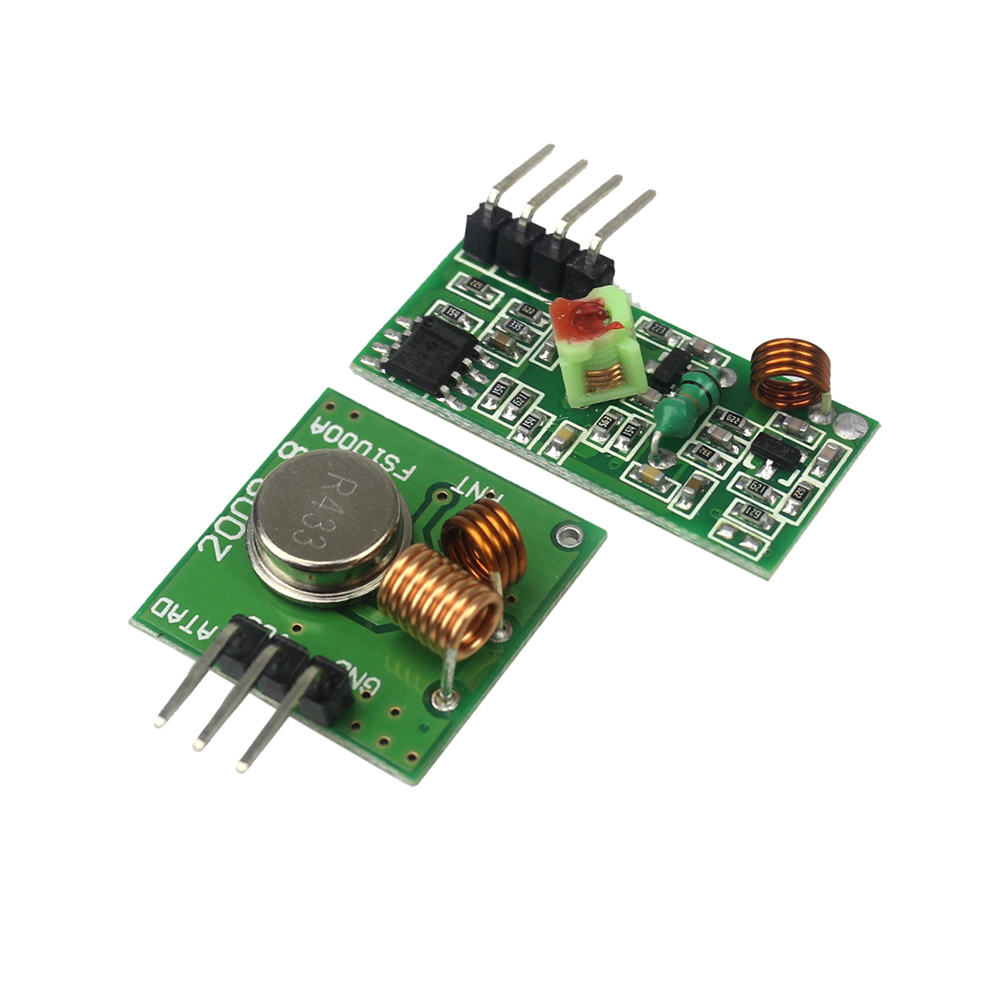 Buy 433mhz Rf Transmitter Receiver Module Link Kit Arm Mcu Wl Diy Pair Operating At 433 Mhz Aliexpress 315mhz Wireless