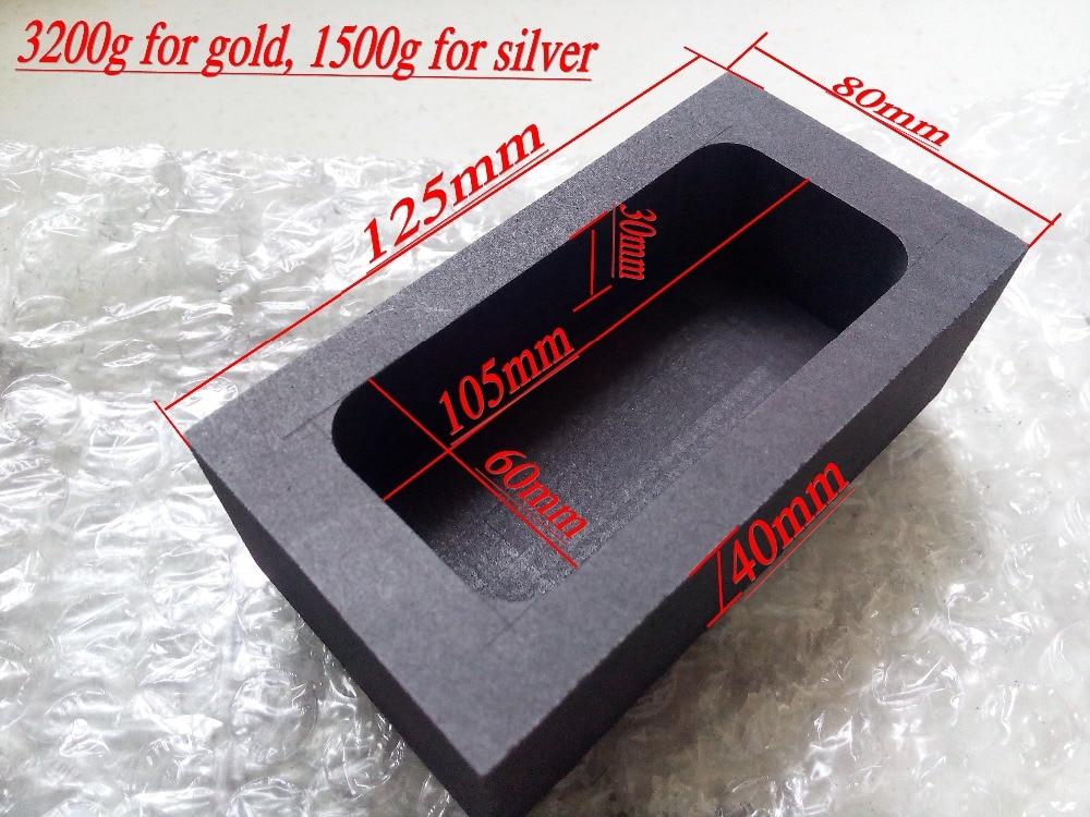 Graphite tank graphite crucible graphite mould molten gold and silver ingot mould graphite trough gold silver strips<br>