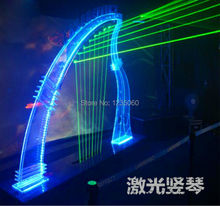 Halloween New Year's Real life room escape laser harp props with music audio Takagism game prop, play the harp to open the door