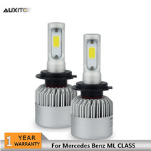 COB H7 Canbus LED Car Headlight Bulb 72W 8000LM Fog Lamp 12V Replace Halogen Lamp For Mercedes Benz ML CLASS 2002-2017 1998-2001