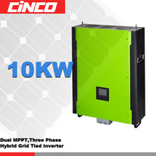Infinisolar -3p 10 kw on grid off grid energy storage hybrid power inverter can parallel connection for home use(China)