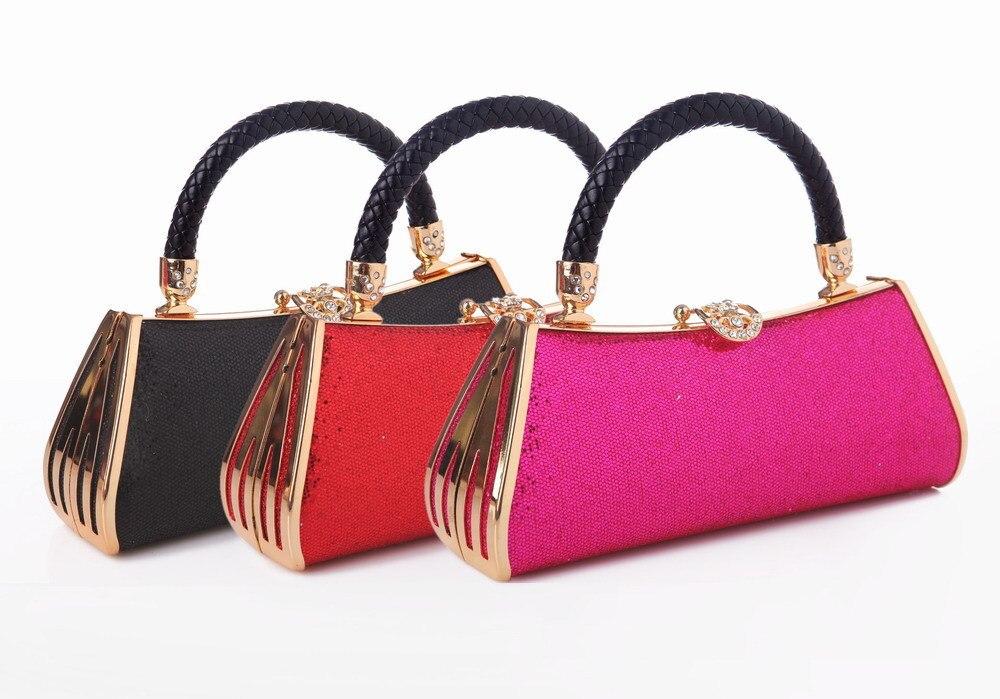 Rhinestone Clutch Bags Purse Designer Slap-Up Gentle Full Party Handbag Wedding Clutch Female Wedding Party Evening Bags<br><br>Aliexpress