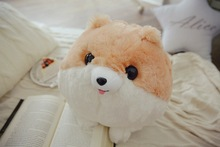 3 Colors Cartoon 30CM Corgi Dog Sexy Hip Plush Pillow Buttocks Cushion White Corgi Soft Stuffed Animal Doll Kids Toy