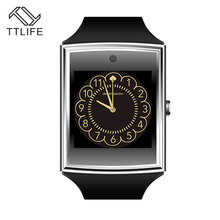 TTLIFE Newest 518 Smartwatch TF SIM Card Bluetooth Sleep Tracker Smart Watch Man Woman Gold Smart Wrist Clock For Android Phones