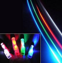 Fun Finger Lights LED Beams Laser Rings Raves Neon Glow Lamps party birthday Chistmas Disco props festive evernt supplies(China)
