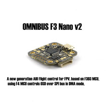 OMNIBUS F3 Nano v2 Flight control board Supports SD Card and LIPO direct input (2-4S) For FPV racing quadcopter drone