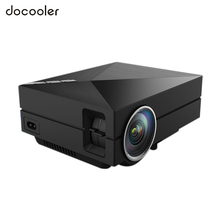 GM60A LED Home Theater Projector Upgrade Version 800 x 480 Native Resolution Mini Metal HD Video WiFi Beamer 1080P HDMI VGA AV