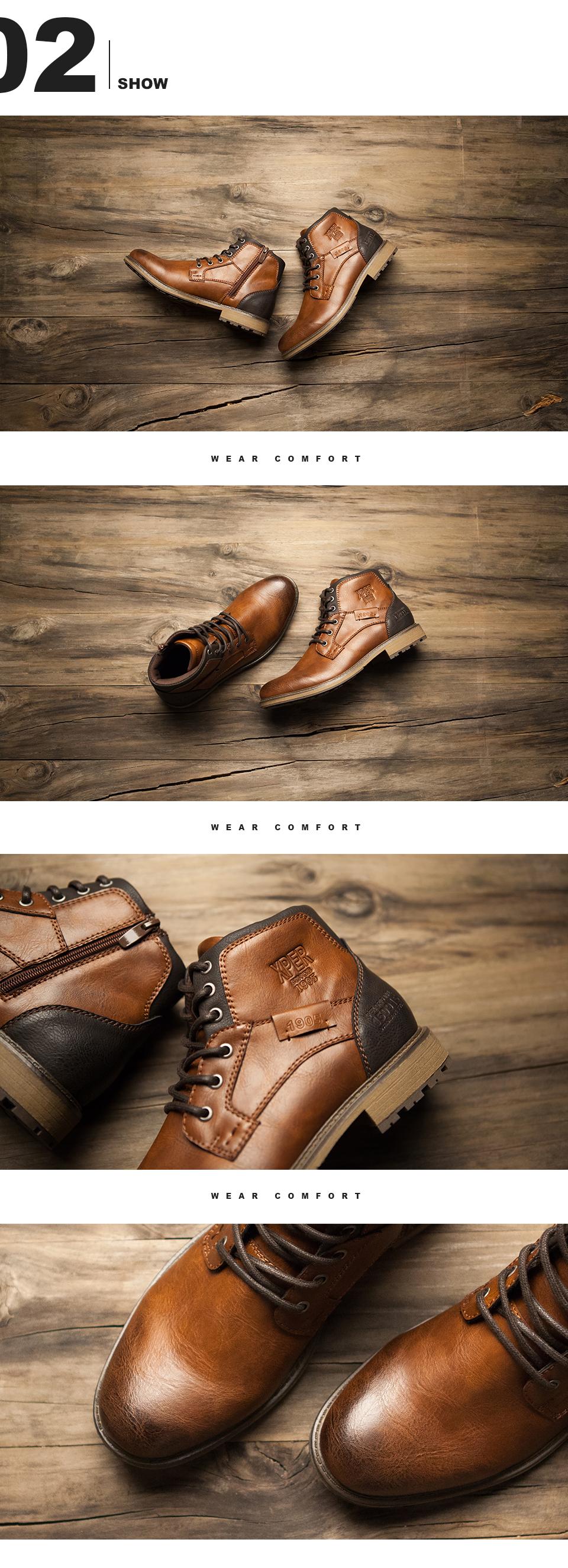 أحذية رجالية كبيرة الحجم 40-48 3