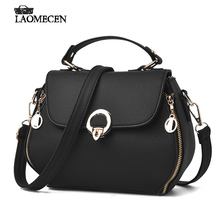 Woman French Mini Leather Handbags Black Women Luxury Brand Small Handbags Sequins Women Bags Designer Louis Flap Bag 2017(China)