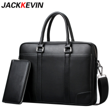 2018 Brand Men Bag Casual Men's Briefcase Shoulder Bags Laptop Crossbody Messenger Bag Men Leather Cowhide Men Crossbody Bag(China)