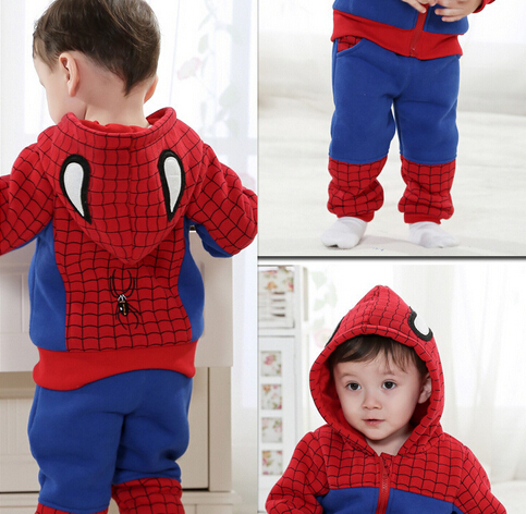 Anlencool 2017 Roupas Meninos free Shipping Spring On Behalf of Childrens Clothing for baby Sports Suit Sweater Baby Spiderman<br><br>Aliexpress
