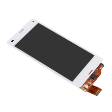 "Tested NEW Assembly Replacement LCD 4.3"" For Sony Xperia Z3 mini Compact D5803 D5833 Lcd Screen + Touch Digitizer White"