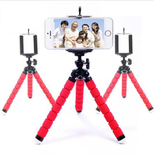 Flexible Octopus Digital Camera Tripod Holder Universal Gopro Mount Bracket Stand Display Support For iPhone Samsung Accessories(China)