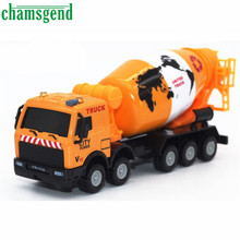 1:43 Racing Bicycle Shop Truck Toy Car Carrier Vehicle Garbage Truck Nov30