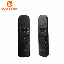 Zoweetek i7 PPT 2.4G Mini Wireless Keyboard Air Mouse Remote Combo with Laser Point Built-in 6 Axis for TV BOX Laptop PC(China)