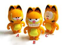 Pendrive 128GB USB Flash Drive cat 2.0Memory Stick/thumb 4g 8g 16g 32g 64g Garfield flash pen drive tiny U Disk external storage