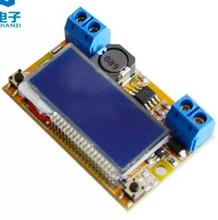 Hot Sale DC-DC Adjustable Step-down Power Supply Module Voltage Current LCD Display Shell 62 x 44 x 18 mm Electric Components