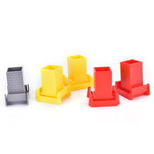 TOYZHIJIA Hot End Bumper Buffer Stop Set Wooden Railway Track Accessories Wooden Train Tracks Set Blocks Toys(China)
