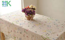 2016 Summer new Household Cotton Canvas table cloth table Pastoral Tablecloth Universal cover towel , freee shipping