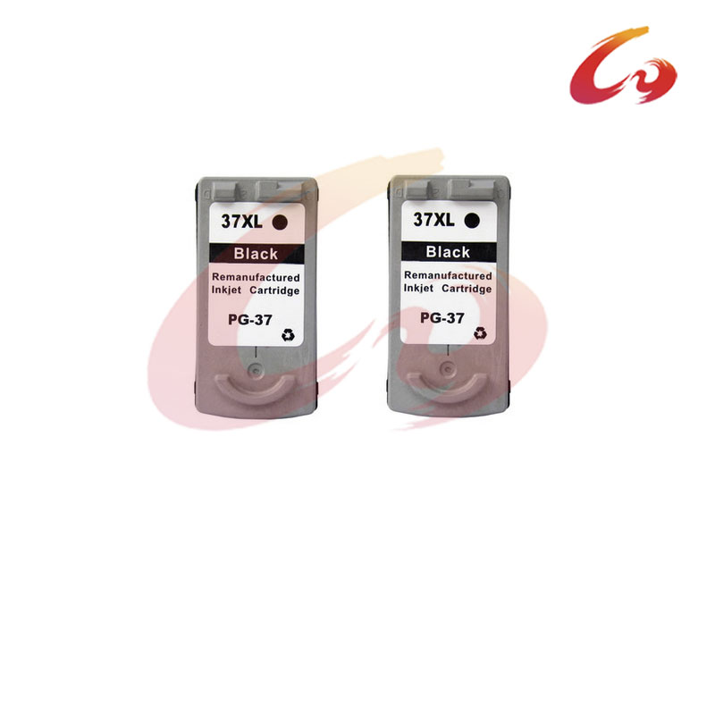 2 pcs Ink Cartridge for Canon PG 37 black For Canon PIXMA MP140 MP190 MP210 MP220 MP420 ip1800 iP1900 iP2500 iP2600 MX300 MX310<br><br>Aliexpress