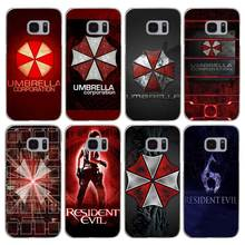 G237 Resident Evil Umbrella Transparent Hard PC Case Cover For Samsung Galaxy S 3 4 5 6 7 8 Mini Edge Plus Note 3 4 5 8
