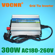 FREE Shipping!! 300W Grid tie micro inverter, DC10.5V~28V to AC90V-140V or 180V-260V for 420W 18V Solar panel
