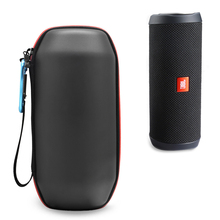 New PU Trave Carry Waterproof Zipper Portable Protective Hard Case Cover Bag Box for JBL Flip4 Flip 4 Wireless Bluetooth Speaker