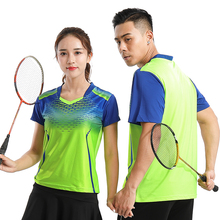 Buy New Quick dry Badminton shirts Men/Women's, sports badminton wear t-shirt, Tennis shirts, Tennis shirts 211# for $16.00 in AliExpress store