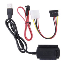 SATA/PATA/IDE Drive to USB 2.0 Adapter Converter Cable for 2.5 / 3.5 Inch Hard Drive  New Arrival