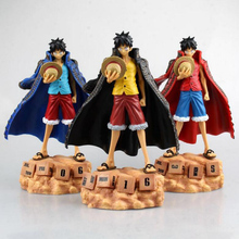 20cm One Piece Monkey D Luffy Eternal Calendar Ver. PVC anime children cartoon doll  Action Figure Collectible Model Toy T5567