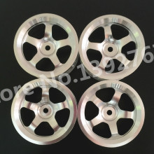 4Pcs/Set RC Aluminum Alloy Metal Wheel Rim Offset For HPI HSP Sakura 1/10 Scale Models On-Road Remote Control Car Tires 94123