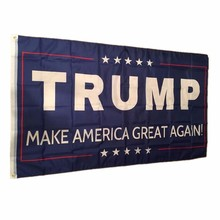 Buy 2017 150x90cm Double Sided Printed Donald Trump Flag Make America Great Donald President USA for $2.65 in AliExpress store
