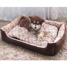 Top Quality Large Breed Dog Bed Sofa Mat House 3 Size Cot Pet Bed House for large dogs Big Blanket Cushion Basket Supplies HP789(China)
