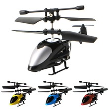 M89C1Set Mini QS5012 2CH RC Helicopter Infrared Remote Control Aircraft Kids Toy New Black/ Blue/ Yellow/ Red(China)