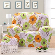 Sunflowers Couch Sofa Covers Universal Stretch Corner Sofa Slipcovers For Living Room Home Decoration Anti-dirty Sofa Slipcovers