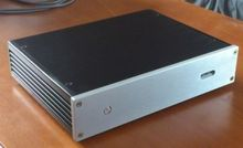 D2806 silver DAC enclosure full Aluminum AMP chassis DAC box premplifier case(China)