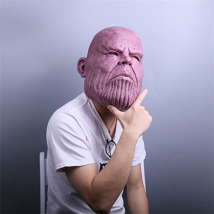Thanos Cosplay Mask & Gauntlet Take Control of Your Infinity Saga Universe 9