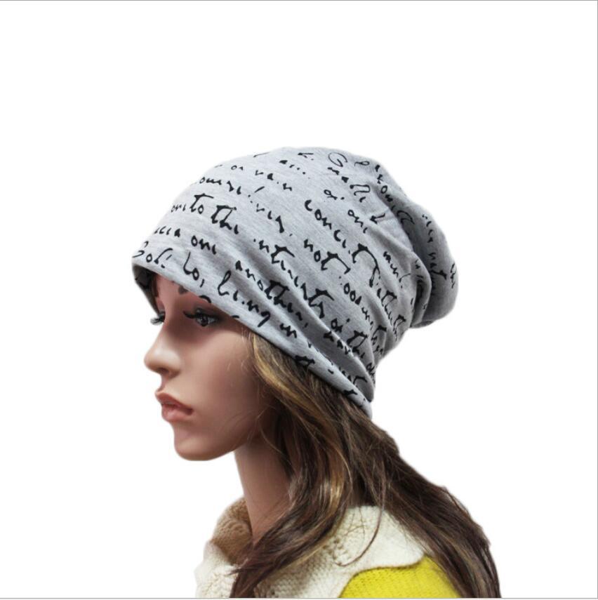 Top Fashion Letter Prints New Fashion Casual or Sport Spring /Summer Womens Caps Ladies Hat Skullies  Beanie Free ShippingÎäåæäà è àêñåññóàðû<br><br><br>Aliexpress