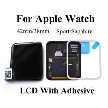 For Apple Watch Series1 LCD Display With Touch Screen Digitizer Assembly Replacement Parts 38mm42mm Sport/Sapphire With Adhesive