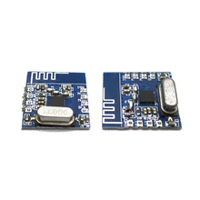 NRF24L01+ wireless module support pins and patches