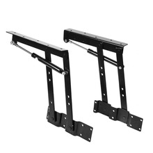 2x Multi-functional Lift Up Top Coffee Table Lifting Frame Mechanism Spring Hinge Furniture Spring Hinges Hardware(China)