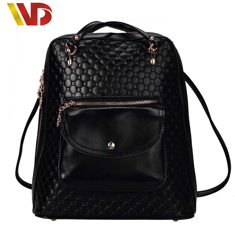 Korean Brand Genuine leather women backpack Crocodile backpacks for teenage girls black casual travel school bag mochila feminin<br><br>Aliexpress