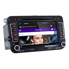 2 din car DVD player GPS navigation for Volkswagen VW passat golf polo jetta Android 5.1.1 OS 7 inch 1024*600 Quad Core CAN BUS