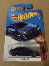 New Arrivals Hot Wheels 1:64 17th blue acura nsx Diecast Car Models Collection Kids Toys Vehicle For Children hot cars