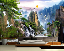 China landscape Photo Wallpaper Natural Scenery Mural Wallpaper Home Decor Wall Mural