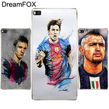 DREAMFOX L430 Football Superstar Soft TPU Silicone  Case Cover For Huawei P8 P9 P10 Lite Plus 2017 Honor 8 Lite Pro 9 5C 6X
